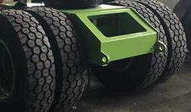 中科聚峰混凝土搅拌车轮胎